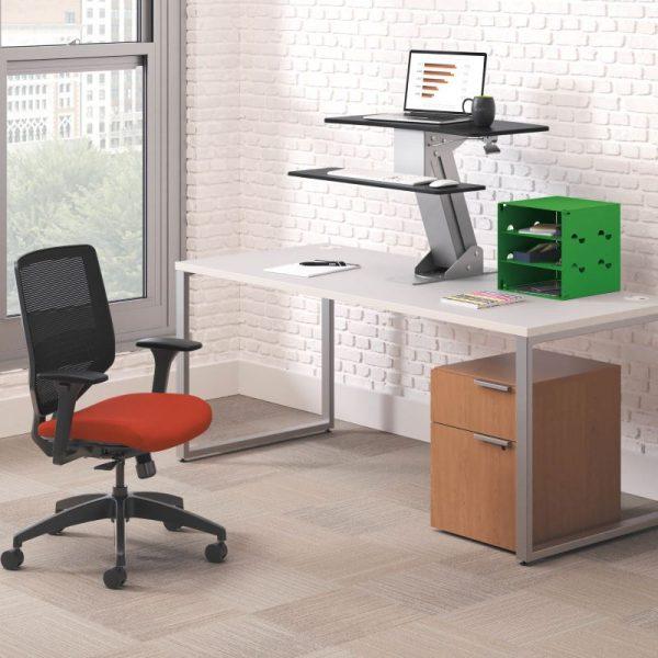 Coordinate Mounted Desktop Riser_Voi_Solve_v2