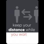 distance black